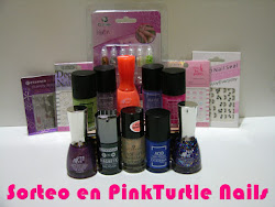 "Sorteo en el blog ""Pink Turtle Nails"""