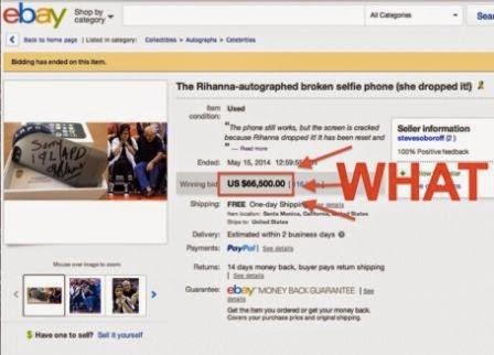 Wow..!, ponsel 2 juta-an yang rusak bisa laku 73 juta lebih