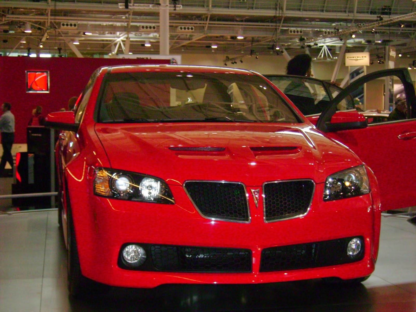 Pontiac G8 New England Auto Show 2008