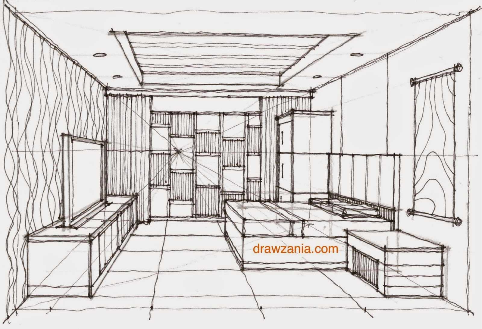 Sketching Interior 01 Learn To Draw
