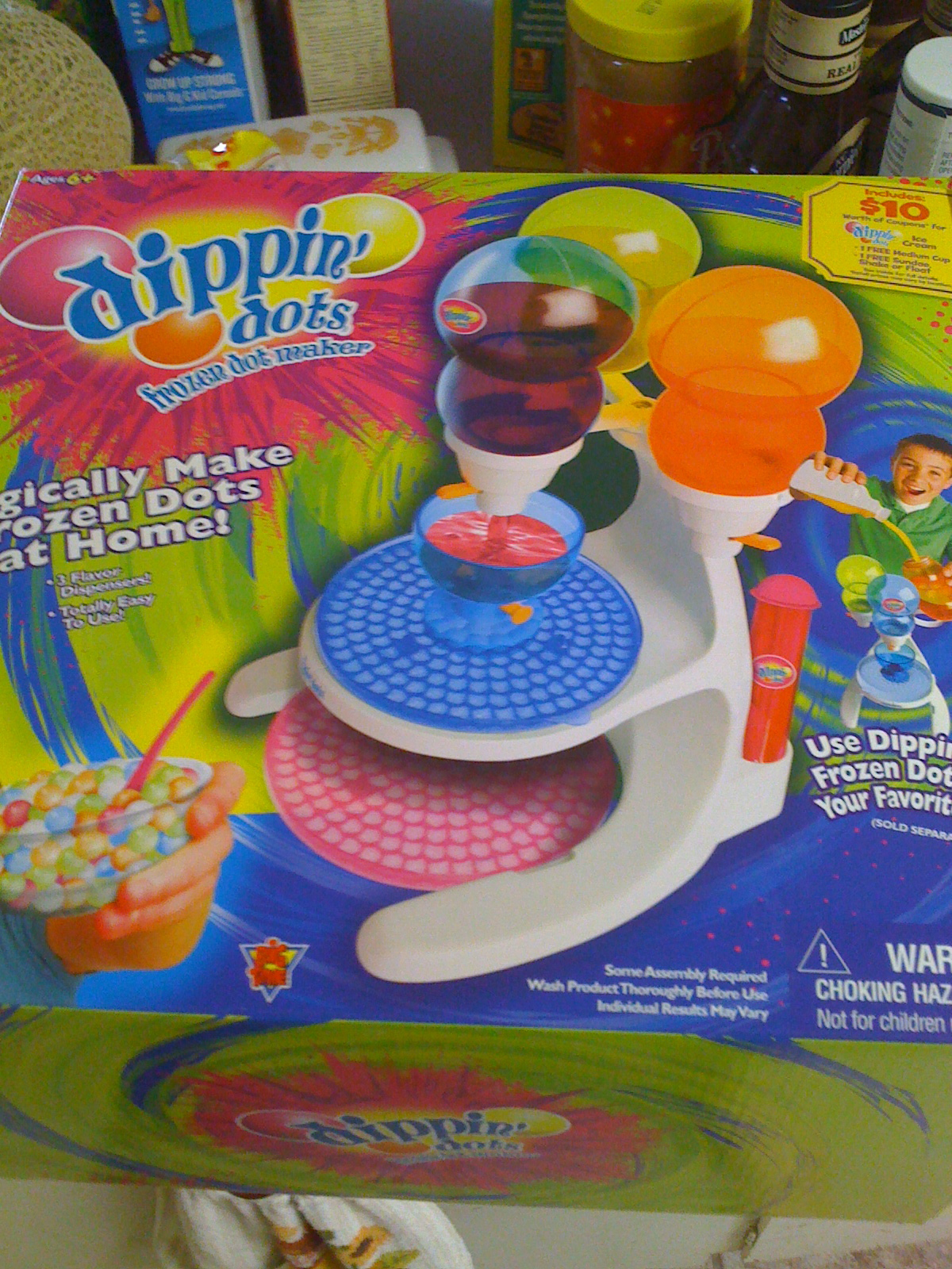dippin dots machine maker