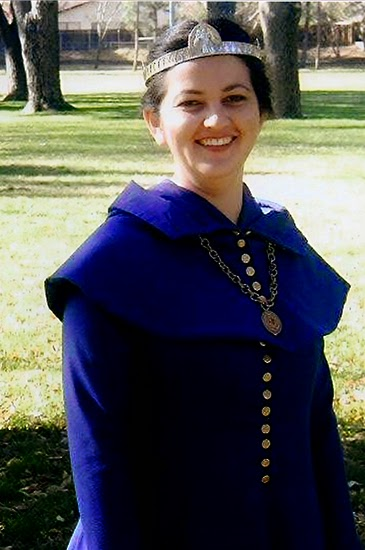 14th century dress SCA baroness @ Lady by Choice