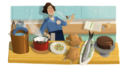 100th birthday of Julia Child