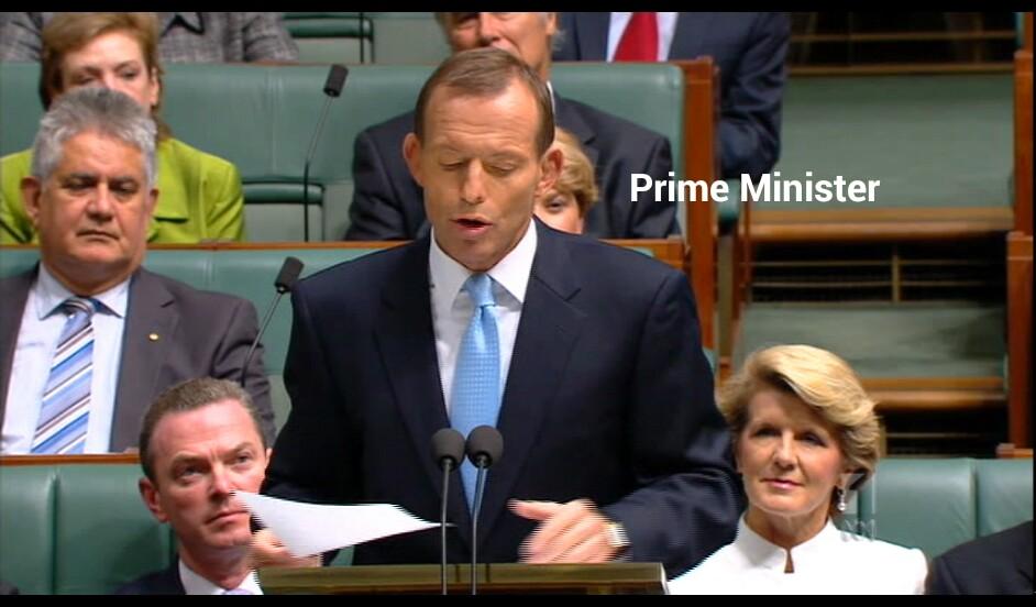 Tony Abbott, Prime Minister