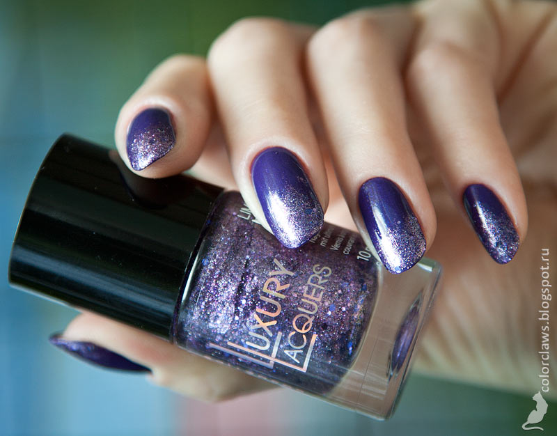 Catrice The Big Bling Theory + Catrice Purple Reign