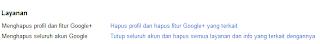 Hapus Akun Google+