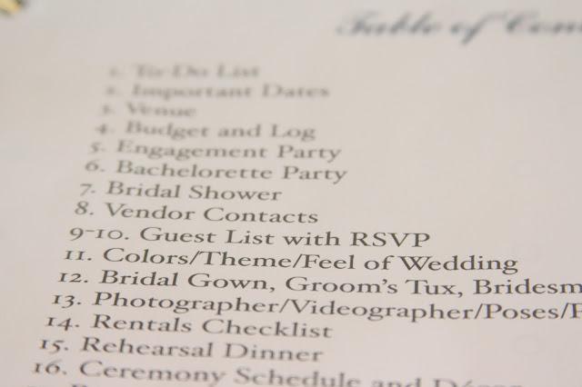 Wedding Planning Checklist To Do Organizer