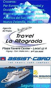 """Agencia de viaje """"La Altagracia Travel, Higuey"""