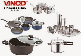 Vinod Stainless Steel & Hard Anodised Cookwares & Pressure Cookers: Flat 10% Extra Discount @ Snapdeal