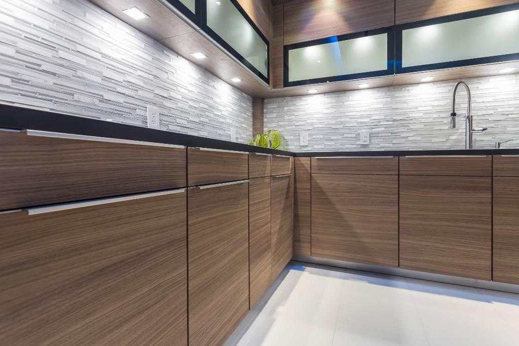 Fotos de muebles cocina color nogal ideas - Cocinas color nogal ...