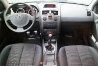 interior renault megane 2 II sport