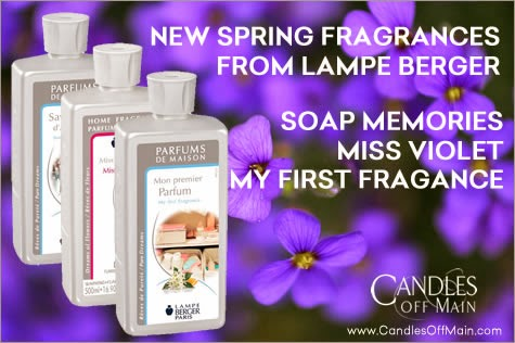 Lampe Berger   New Spring 2014 Fragrances