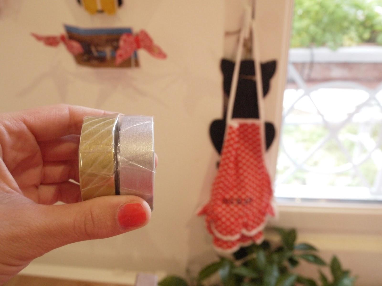 masking tape doré argent
