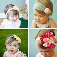 Babies Pictures Different Caps Models Photos