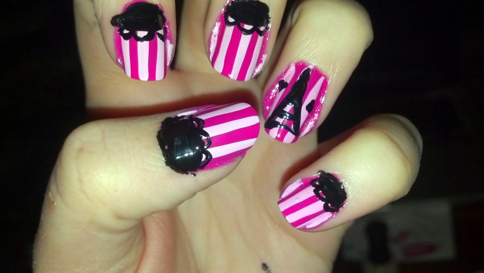 The Nail Diaries: Valentine\'s Themed Nail Art