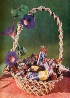 Как сплести вазочку для конфет в макраме?