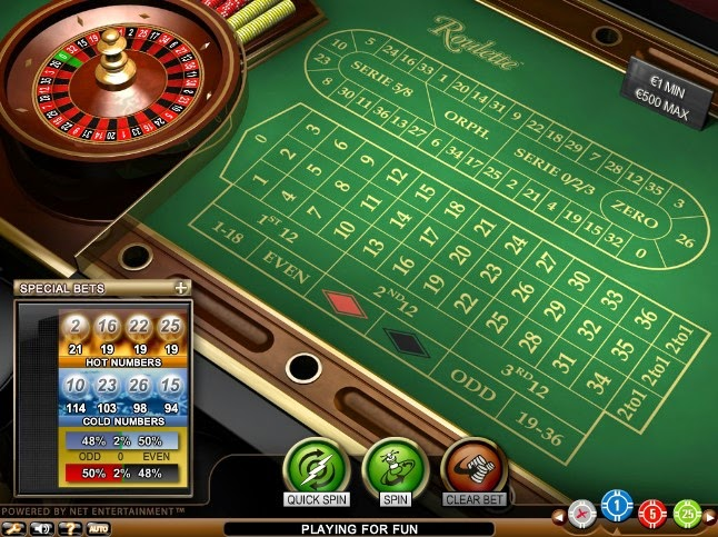 Bet-at-home Roulette Screen