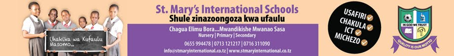 JIUNGE NA ST MARY'S INT'L SCHOOLS