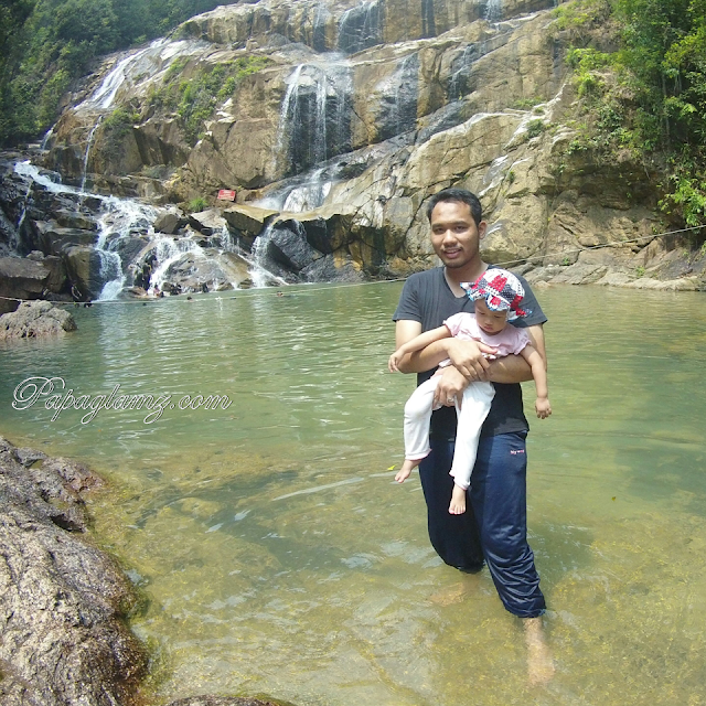 air terjun sungai pandan kuantan, papaglamz.com, tempat menarik di malaysia, tempat tersembunyi yang menarik di malaysia,