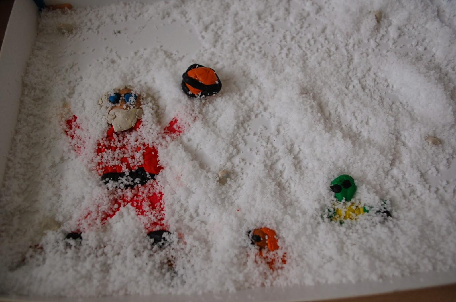 Sunnyside art house snow in melbourne plasticine