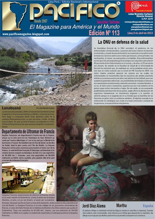 Revista Pacífico Nº 113 Turismo