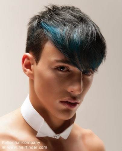 Estilos y peinados de moda peinados de hombres colores - Como hacer peinados hombre ...