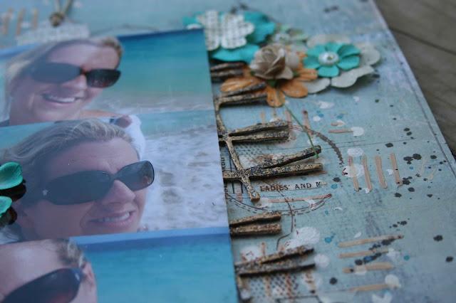 Ma page pour le challenge de scrap around the world Caro-cuba-2