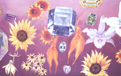 Gemstones and Flowers