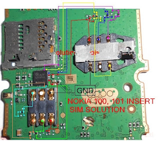 Nokia 101 Insert Sim Jumper Problem Solution | Teknik Dasar Servis Hp