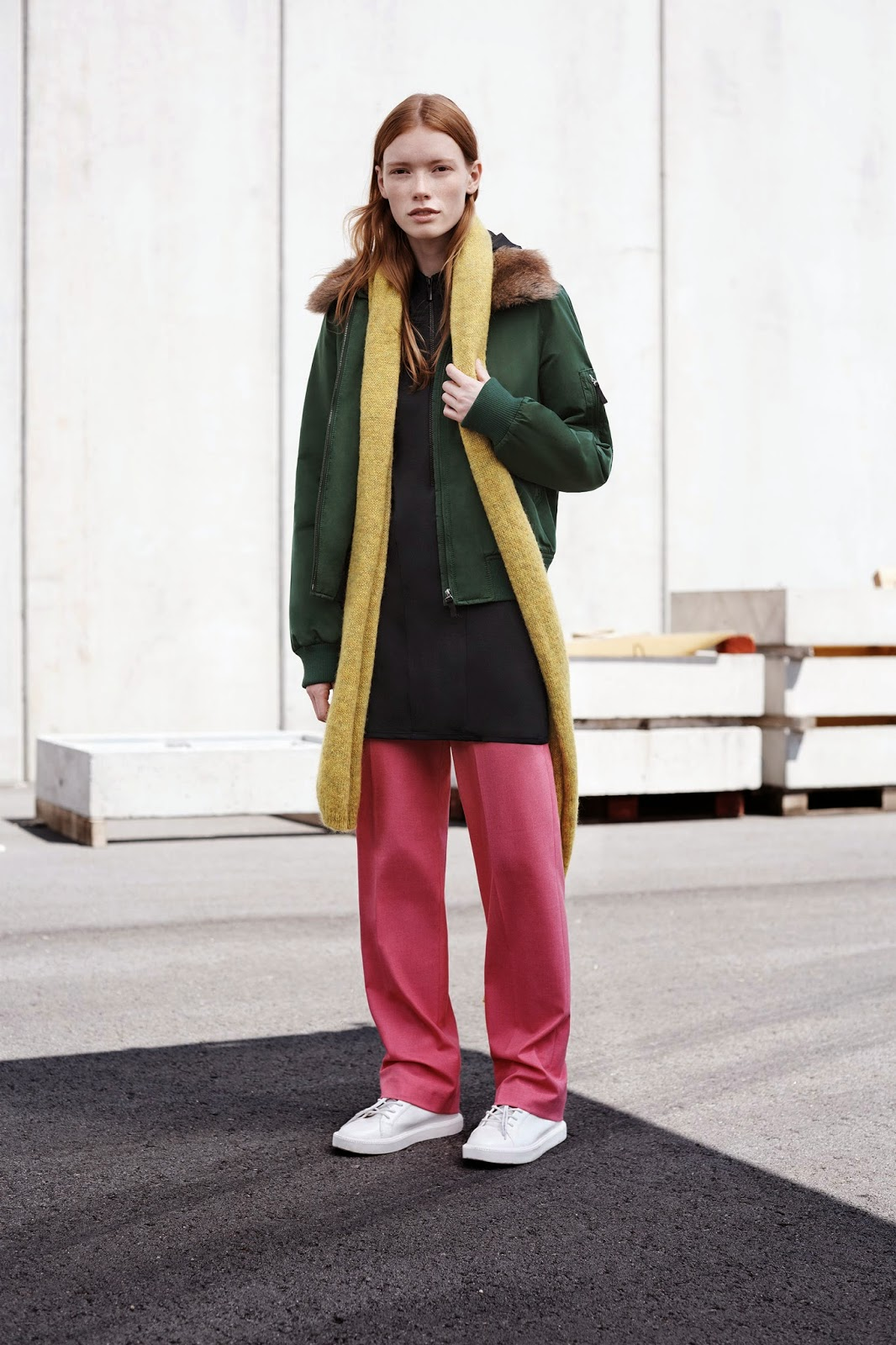 Tendencias AW14/15, Lookbook Trafa, Zara, Normcore, Style, Street Style, Fashion Styles, Cool, Códigos de estilo en la calle, Skirt, Dress, Pants, Boots, Shopping Bag, Shoes, Blucher,