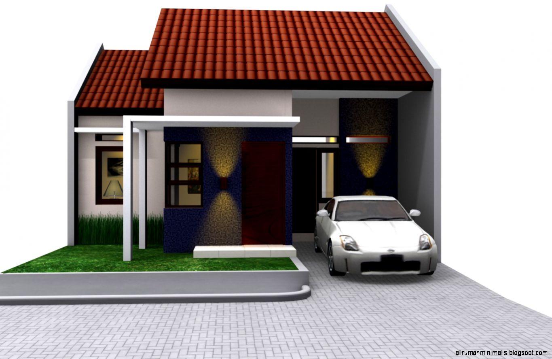 10 Gambar Rumah Sangat Sederhana yang Menawan  Desain Rumah