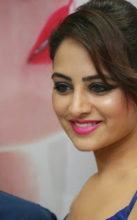 Actress Zoya Afroz Picture Gallery in Blue Long Dress  32.jpg
