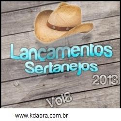 Lançamentos Sertanejos Vol 8 (2013)