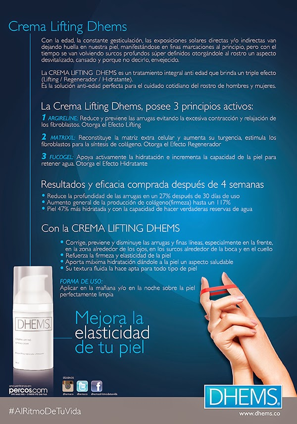 CREMA LIFTING DHEMS