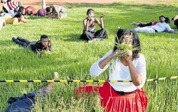 Pastor Lesego Daniel in South African Trouble for eating grass