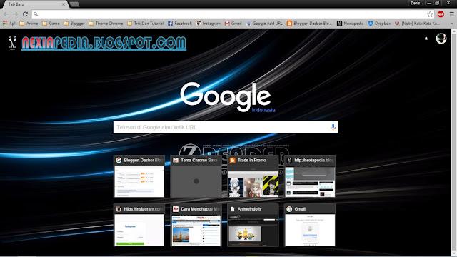 Cara Membuat Tema Google Chrome Sendiri