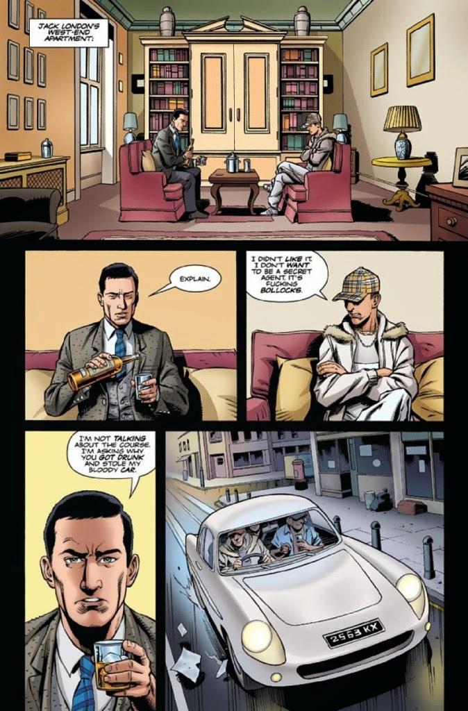 Original Comic The Secret Service