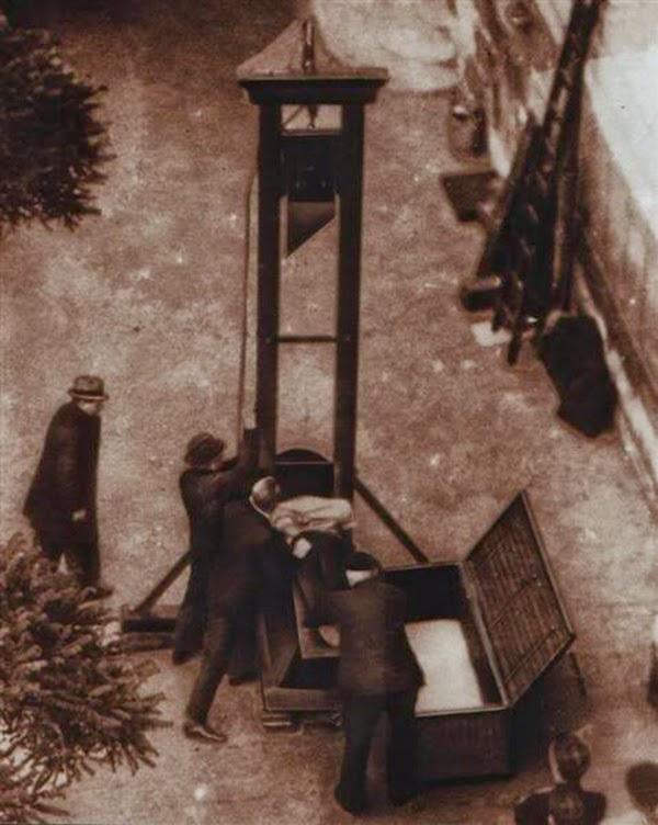 La última ejecución pública por Guillotina