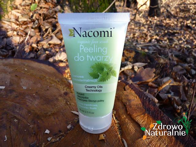 Nacomi - Przeciwtrądzikowy peeling do twarzy z korundem