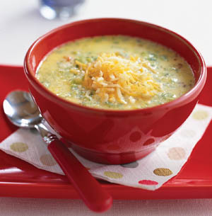 Serve and enjoy this easy soup recipe – broccoli cheese Soup recipe