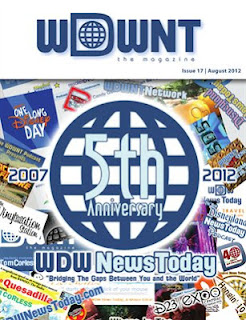 Cover Issue 17 of WDWNT: The Magazine