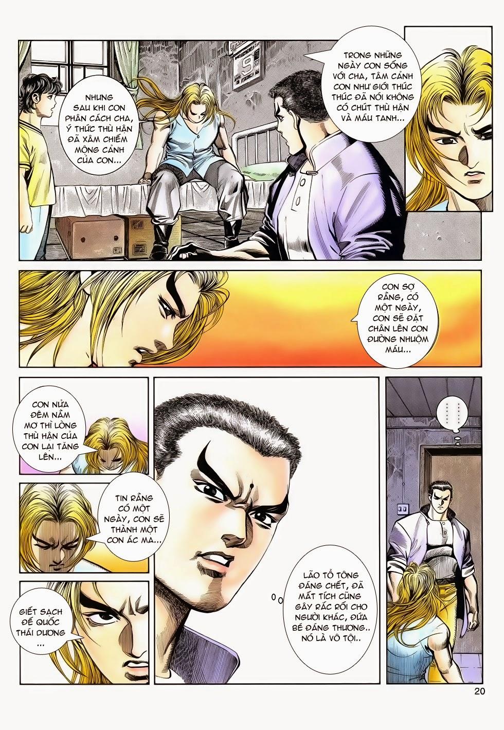 Long Hổ Phong Bạo chap 2 - Trang 20
