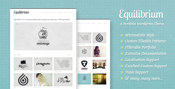 Equilibrium Wordpress Theme Free Download by ThemeForest.