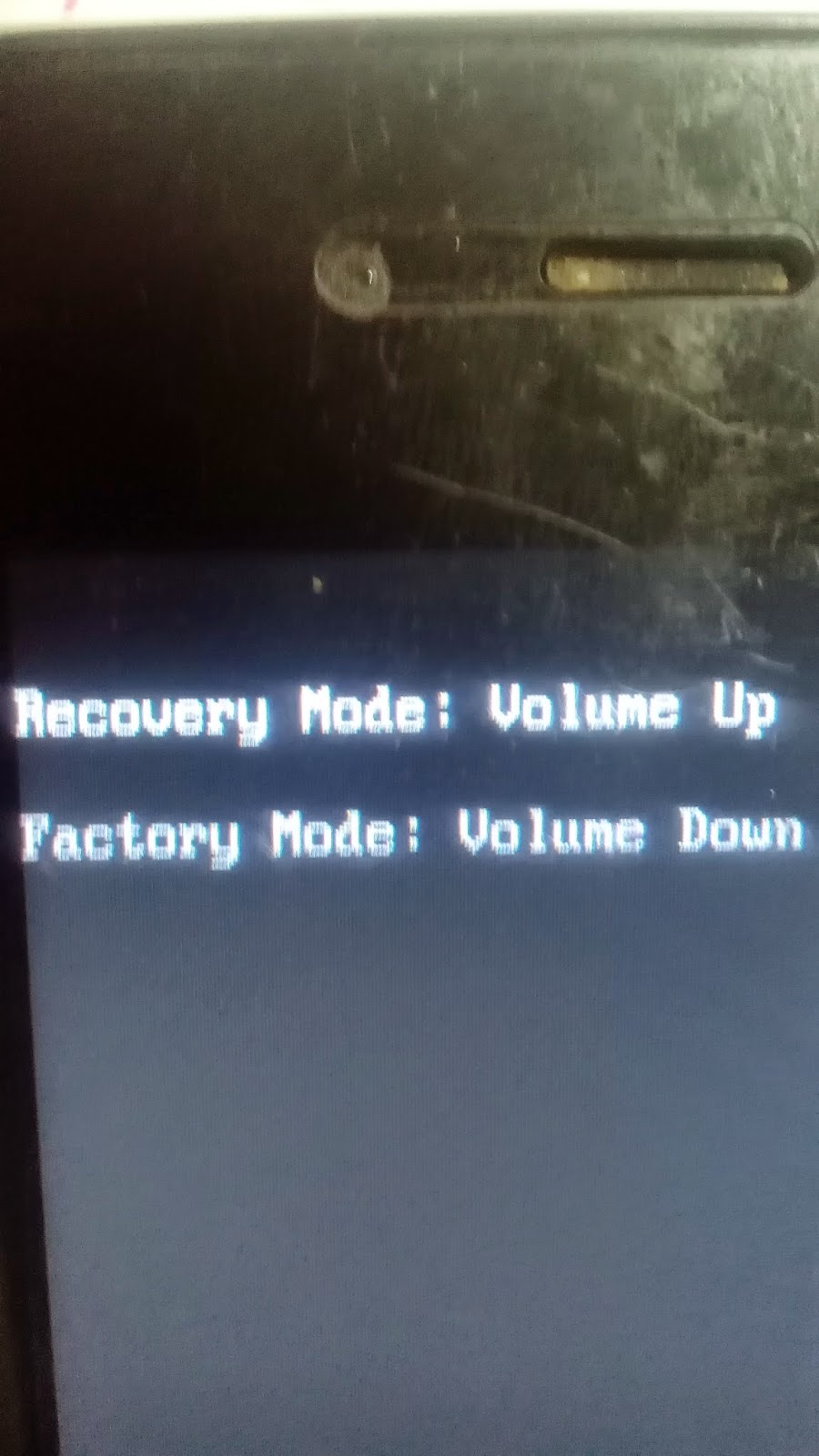 boe factory appear on screeen how to turn off