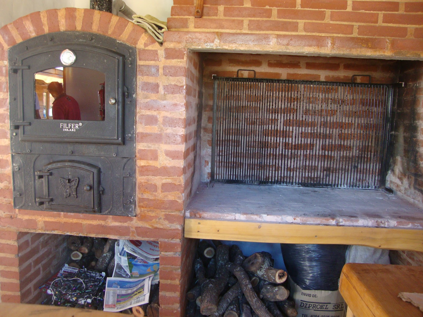 Hornos de calor envolvente - Hornos de lena de hierro ...