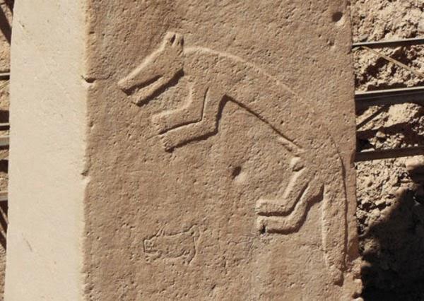 Simbol Serigala Gobekli Tepe