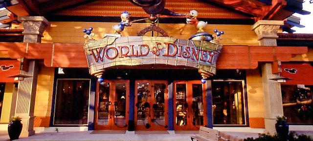Loja World Of Disney Downtown Disney
