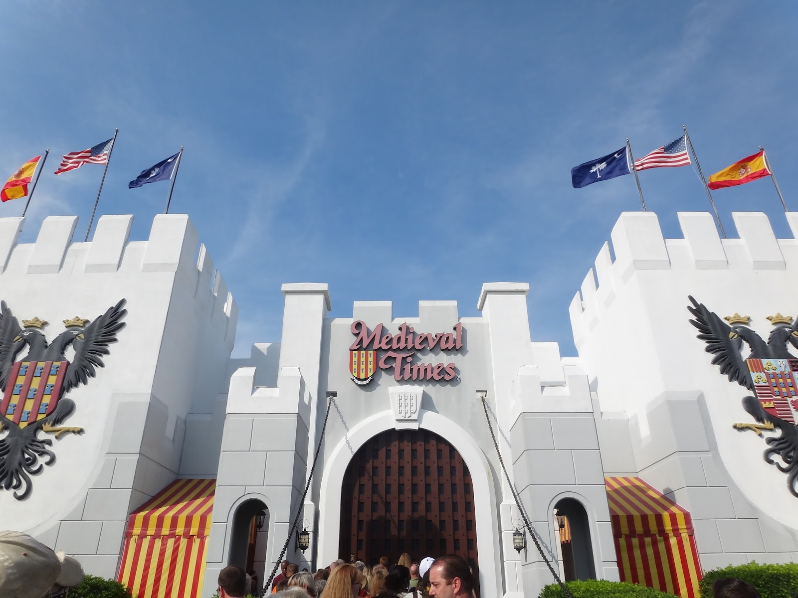 For a fun family experience in south Myrtle Beach SC, check out Medieval Times Dinner & Tournament. Take a voyage back to Medieval Spain where you will witness a magnificent Tournament of Knights in which you will see six noble knights battle to be a champion, and fight for the heart of Princess Catalina and the honor of the king/5.