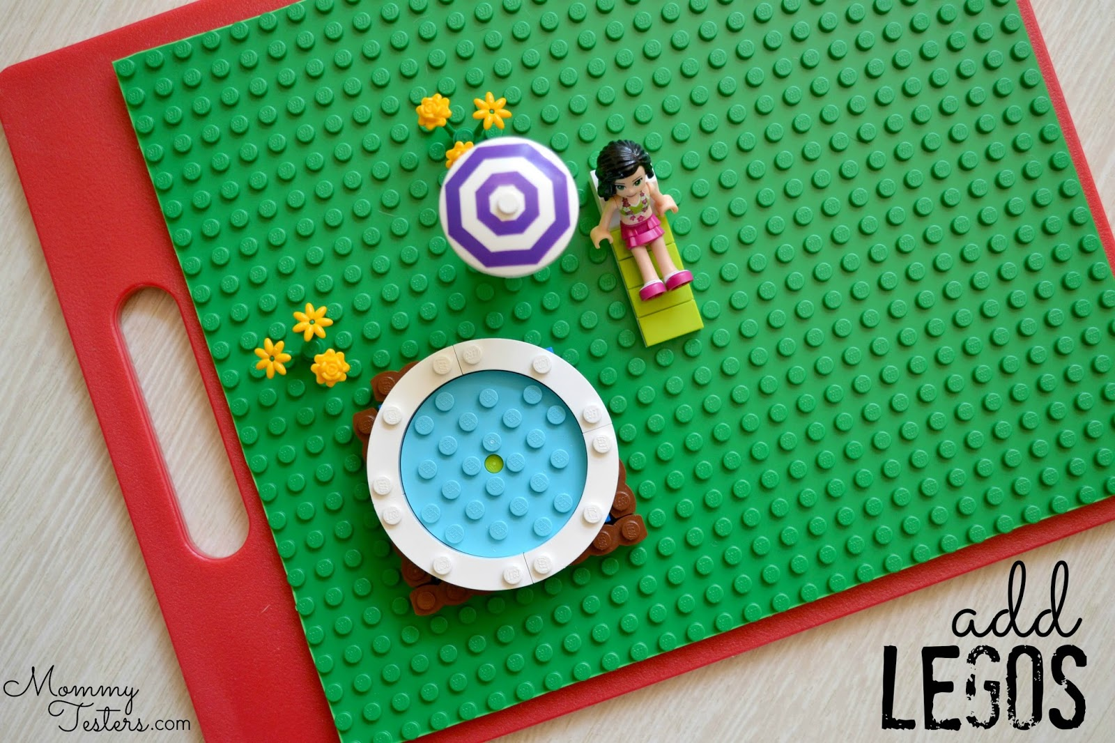 Mommy testers diy travel busy board for kids a diy lego for Lego diy