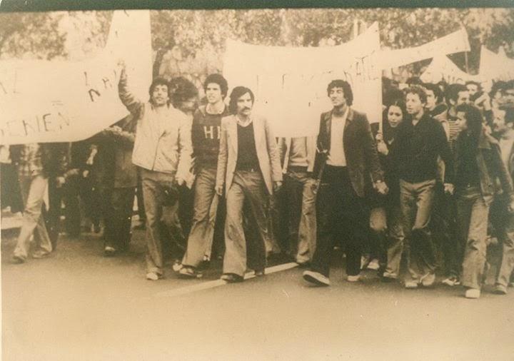 Printemps amazigh 1980  la première marche le 26 mars à